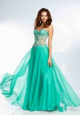 Mori Lee 97119.  Available in Candy Pink, GreenEX, Mango, Nude