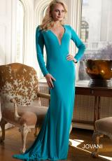 Jovani 23532.  Available in Navy, Turquoise