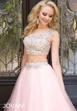 Jovani 24344.  Available in Pink, White