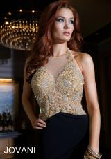 Jovani 24929.  Available in Black/Nude, White/Nude