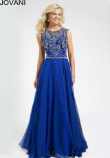 Jovani 78146.  Available in Navy, Nude