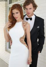 Jovani 92878.  Available in Black, Coral, White