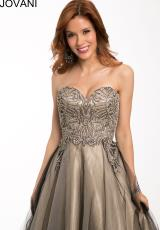 Jovani 98538.  Available in Black/Nude