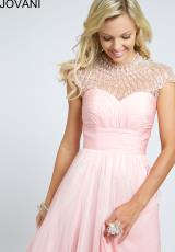 Jovani 98756.  Available in Mint, Navy, Pink