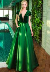 Jovani 23990.  Available in Green, Navy, Wine