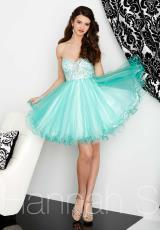 Hannah S 27032.  Available in Black/Nude, Jade/White