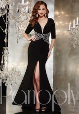 Panoply 14724.  Available in Black/Silver, Ivory/Silver