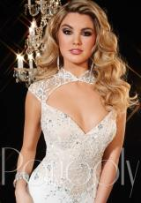 Panoply 44272.  Available in Black/Nude, Silk White/Nude
