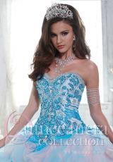 Tiffany Quinceanera 26802.  Available in Green/Turquoise, Turquoise/Pink