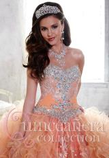 Tiffany Quinceanera 26803.  Available in Orange, Red