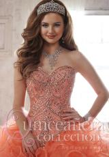Tiffany Quinceanera 26805.  Available in Coral, Lilac, Sparkle White