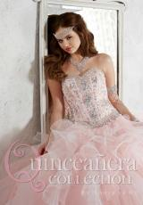 Tiffany Quinceanera 26811.  Available in Pink, Teal, White