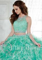 Tiffany Quinceanera 26813.  Available in Mint, Royal Blue, Sparkle White