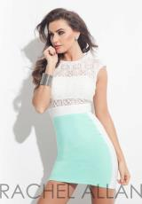 Rachel Allan 3018.  Available in Black/White, White/Mint