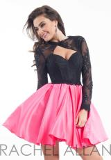 Rachel Allan 3024.  Available in Black/Fuchsia, Black/White