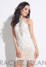 Rachel Allan 3028.  Available in Black/Nude, White/Nude