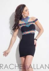 Rachel Allan 3990.  Available in Black, Coral, Mint, Royal