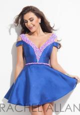 Rachel Allan 4002.  Available in Fuchsia, Royal