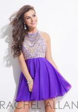Rachel Allan 4011.  Available in Aqua, Purple