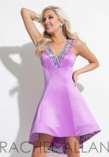 Rachel Allan 4024.  Available in Coral, Purple
