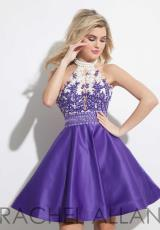 Rachel Allan 4032.  Available in Coral, Purple