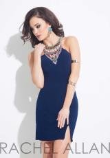 Rachel Allan 4055.  Available in Aqua, Navy