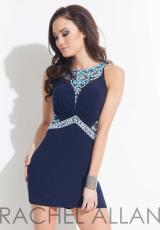 Rachel Allan 4064.  Available in Aqua, Navy
