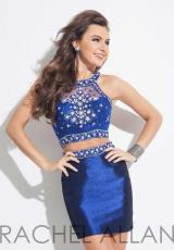 Rachel Allan 4065.  Available in Navy/Blush, White/Turquoise
