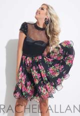 Rachel Allan 4070.  Available in Black/Multi