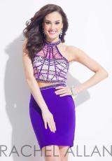 Rachel Allan 4083.  Available in Cranberry, Purple