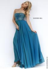 Sherri Hill 1966.  Available in Olive, Royal, Ruby, Teal