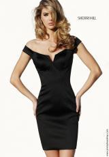 Sherri Hill Short 11293.  Available in Black