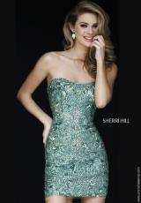 Sherri Hill Short 1953.  Available in Jade, Royal, Ruby