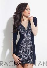 Rachel Allan 3021.  Available in Navy, White