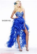 Sherri Hill 2415.  Available in Aqua, Black, Fuchsia, Light Pink, Royal, White, Yellow