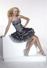 Short Taffeta 2012 Hannah S Prom Dress 27679