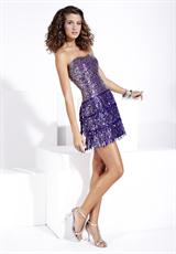 Hannah S 27686.  Available in Purple/Silver, Red/Silver