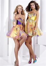 Hannah S 27718.  Available in Purple/Multi, Yellow/Multi