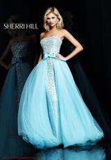 Sherri Hill 2896 Strapless 2013 Prom Dress