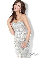 2014 Sweetheart Long Jovani Prom Dress 3008