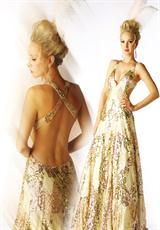 MacDuggal 3535H.  Available in Ivory/Gold