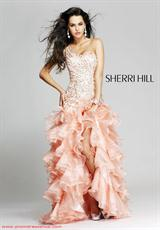 Sherri Hill 3848.  Available in Peach