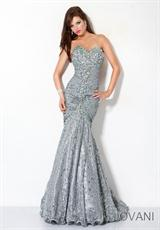 Jovani 4260.  Available in Grey, Hot Orange, Navy