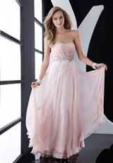 Jasz Couture Flowy Long 2013 Prom Dress 4555