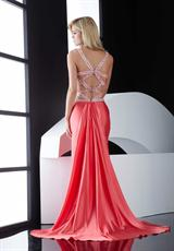 Jasz Couture 4600.  Available in Champagne, Coral, Red