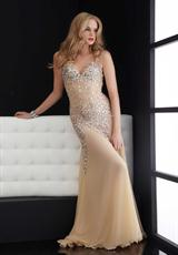 Jasz Couture 4614.  Available in Aqua, Black, Fuchsia, Gold, Nude, Purple, Royal, Silver, White