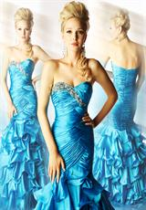 MacDuggal 4911H.  Available in Turquoise, White