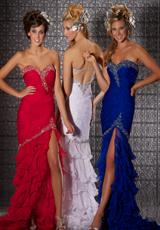 MacDuggal 6052M.  Available in Lemon, Pink, Red, Royal, White