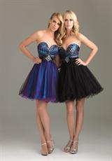 2012 V Cut Short Night Moves Prom Dress 6461