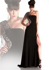 Cassandra Stone 81518.  Available in Black/Nude